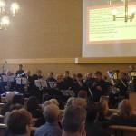Pappa Gospel Band esiintyi vapaakirkossa